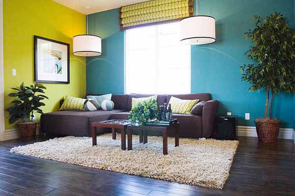 The Best Paint Color Ideas for Living Room with Brown Furniture |