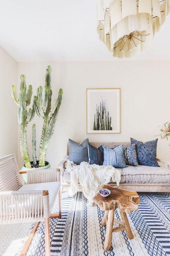 Get the boho chic look - 32 bohemian interior design ideas | Amazing