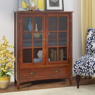 Bookcase With Glass Door | Wayfair