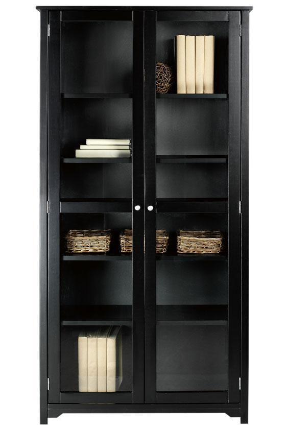 Bookcase With Glass Doors And Drawers | zybrtooth.com