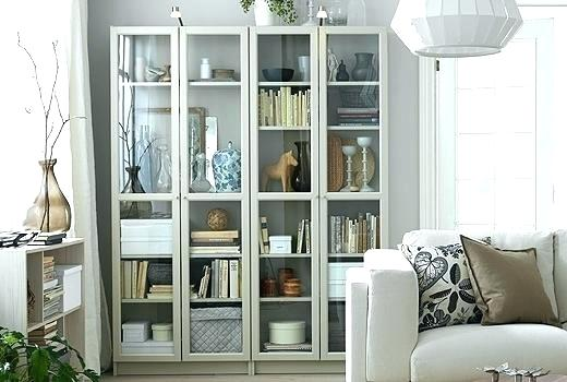 Small Bookcase With Glass Doors Black Bookcase With Drawers