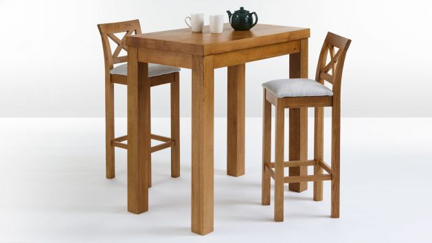 Breakfast Bar Table and Stools | Bar Table Sets | Oak Furnitureland