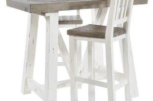 Dorset Reclaimed Wood Breakfast Bar Table & Stool | Bar Tables