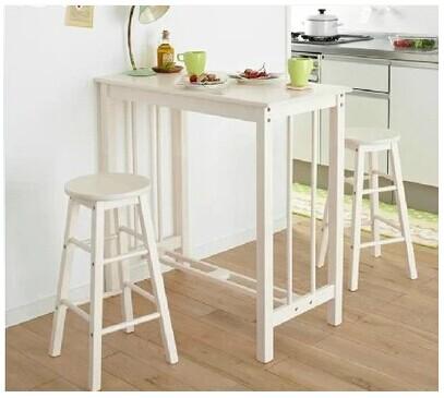 Wood breakfast table breakfast bar stool chair bar tables bar small