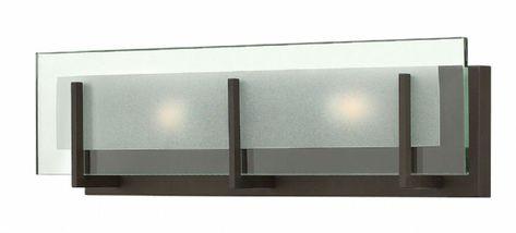 Hinkley 5652OZ Latitude Modern Oil Rubbed Bronze 2-Light Bathroom