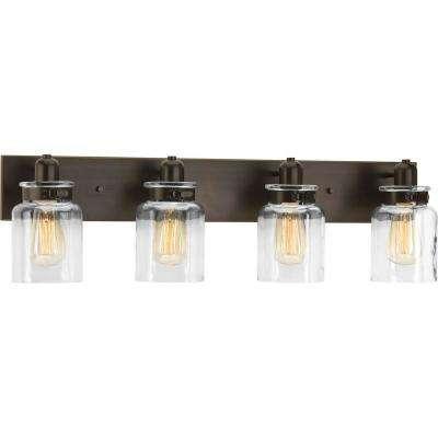 4 Light - Pick Up Today - Bronze - Vanity Lighting - Lighting - The