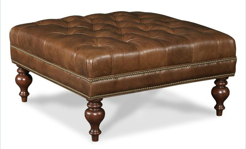 36 Top Stylish Brown Leather Ottoman Coffee Tables | Crafts/DIY