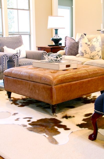 Leather Tufted Ottoman Coffee Table - Ideas on Foter