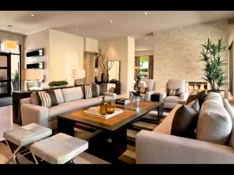 living room ideas brown leather couch Home Design 2015 - YouTube
