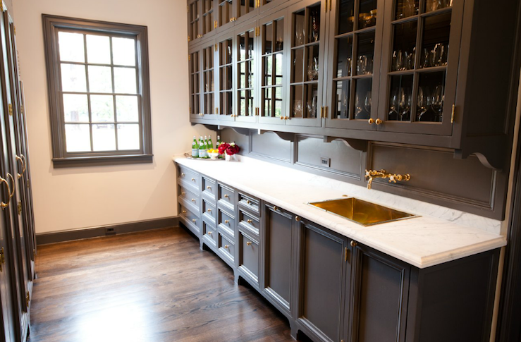 Butler's Pantry Cabinets - Transitional - kitchen - Munger Interiors