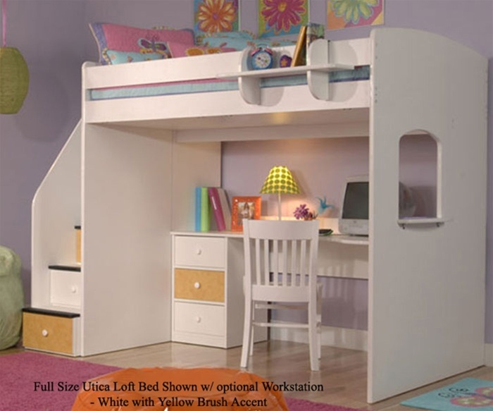 Utica Full Size Loft Bed