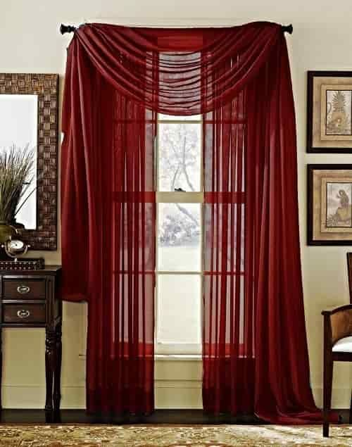 15 Impressive Burgundy Curtains For Living Room To Buy | Home