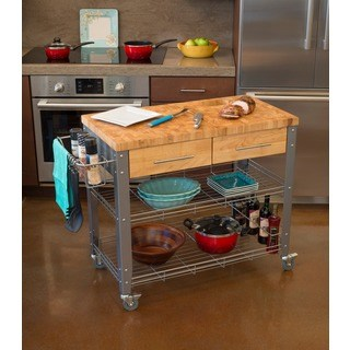 Buy Butcher Blocks Online at Overstock | Our Best Kitchen Furniture