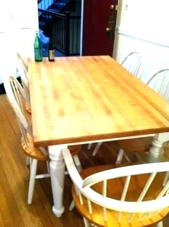 Butcher Block Kitchen Table Butcher Block Table And Chairs Kitchen