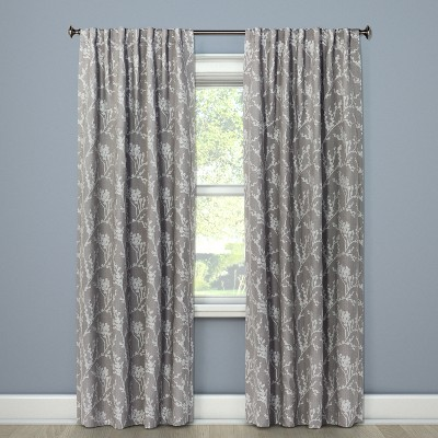 Blackout Curtain Panel Gray 84