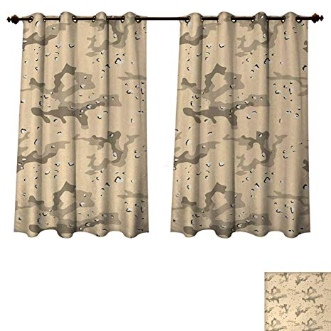 Amazon.com: Anzhouqux Camo Blackout Curtains Panels for Bedroom
