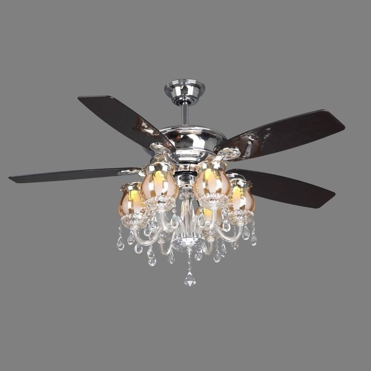 Crystal Ceiling Fan Light Kit - Ideas on Foter