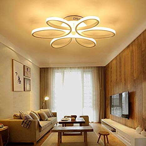 HOUDES Modern Led Chandelier Lighting Ceiling Light Fixture Hanging