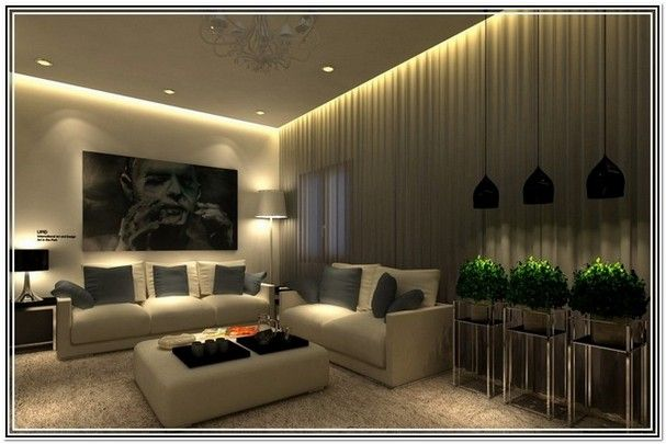 Living Room Lighting Ideas Low Ceiling | SCI-FI LIVING SPACE