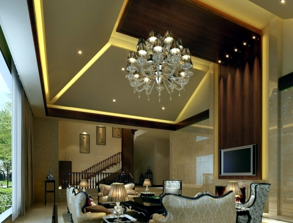Living room ceiling design, let the new light room | Interior Design