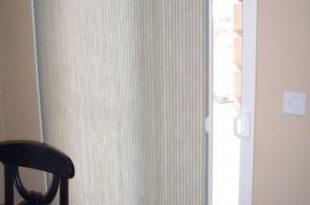 vertical cellular shades for sliding glass door | Allied Studio in
