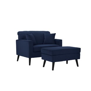 Chair And A Half Ottoman Included Accent Chairs You'll Love   Wayfair
