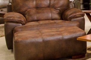Jackson Furniture Drummond Chair and a Half & Ottoman | Bullard