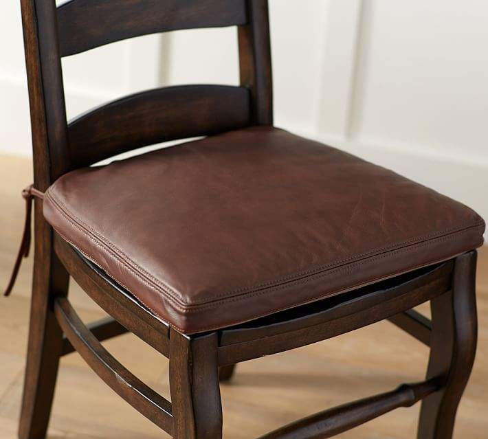 PB Classic Leather Dining Chair Cushion | Products | Dining chair