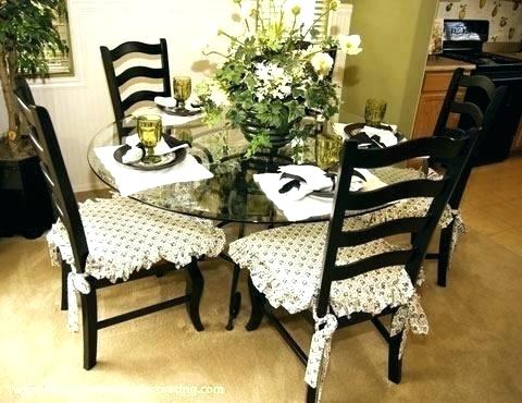 Dining Room Chair Pads Delightful Seat Cushions Dining Room Chairs