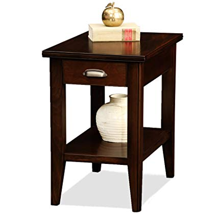 Amazon.com: Leick Laurent Chairside End Table with Drawer: Kitchen
