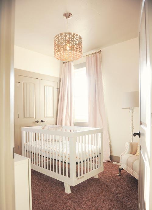 Chandelier For Baby Girl Room Cream And Gold Elegant Classic Ba Girl