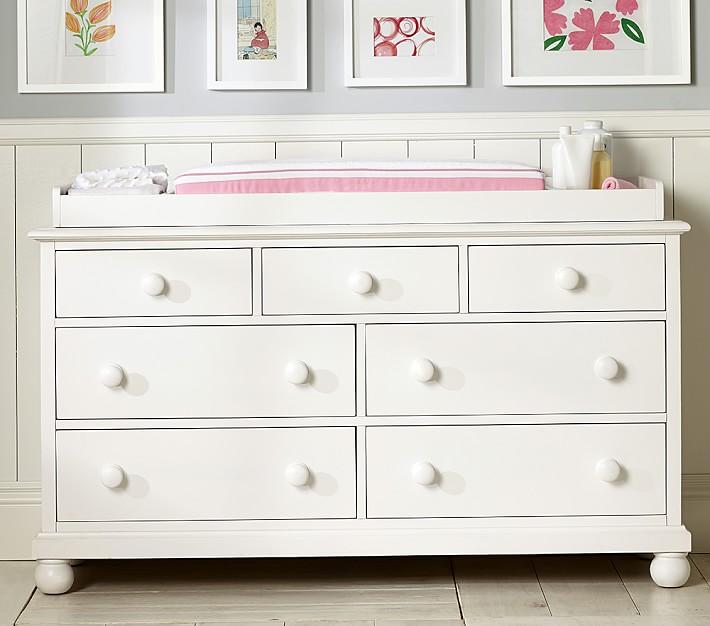 Catalina Extra Wide Dresser & Topper Set | Pottery Barn Kids