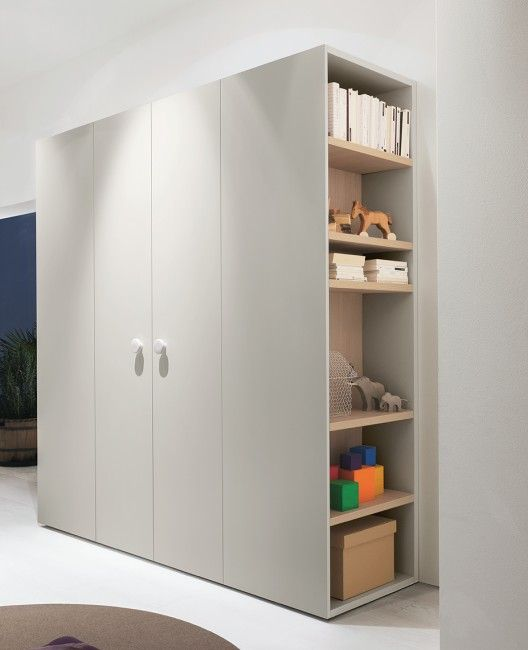 Wardrobe with shelves | kid stuff | Wardrobe furniture, Kids