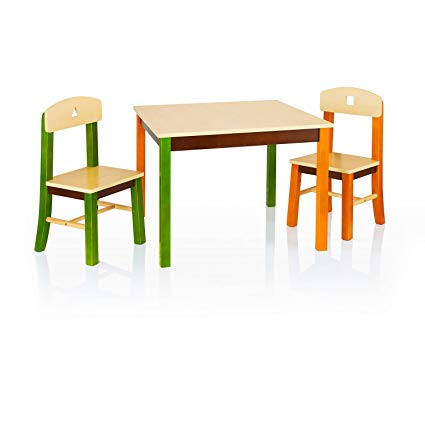 Amazon.com: Guidecraft See and Store Table and Chair Set - Kids