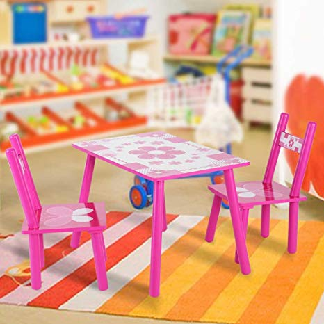 Amazon.com: Yosoo Children Table and Chair Set, Children Activity