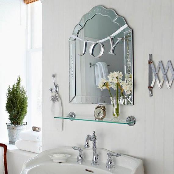 Top 35 Christmas Bathroom Decorations Ideas - Christmas Celebration