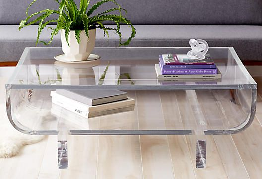 Freaking out over this lucite coffee table | INSPIRE | Contemporary