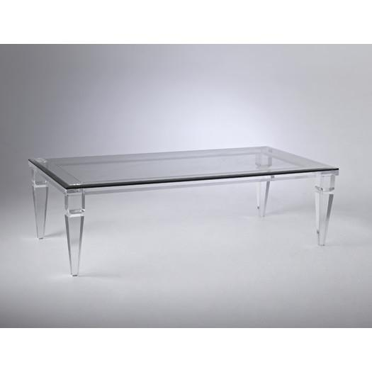 Change your ordinary look with clear acrylic glass coffee table