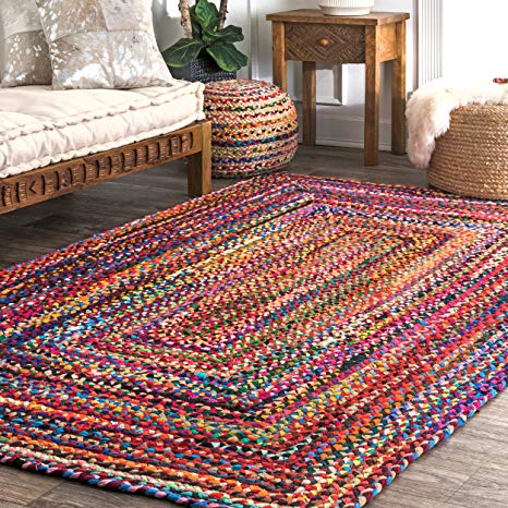 Colorful Cotton Area Rugs