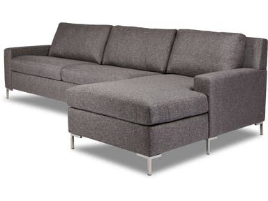 The Brecken includes: Sofa. Loveseat. Comfort sleeper. Chair