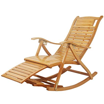 Amazon.com: Chairs Wooden Rocking Comfortable Recliner Adult Elderly