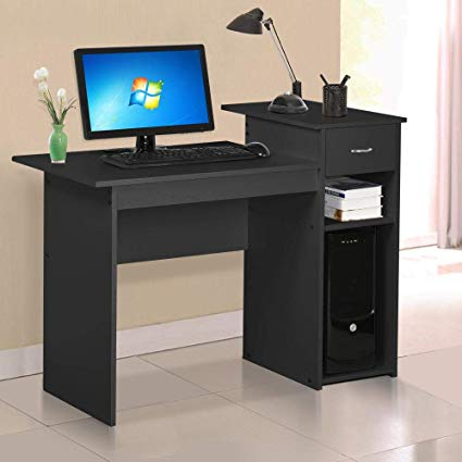 Amazon.com: Yaheetech Small Computer Desk Home Office Desk Laptop
