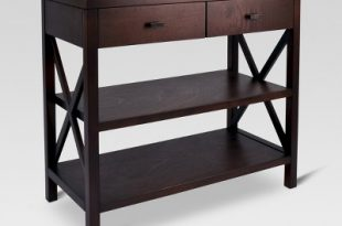 Owings Console Table 2 Shelf With Drawers - Threshold™ : Target