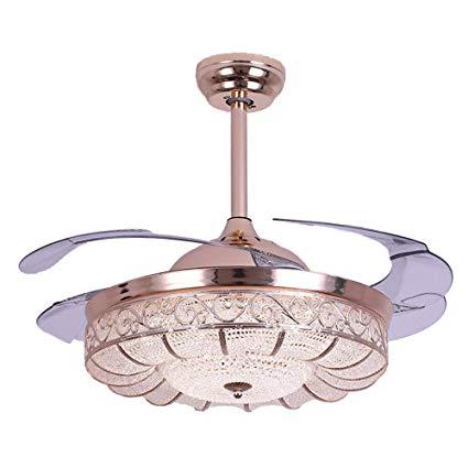 Huston Fan Modern Ceiling Fan Light 42-inch Brushed Nickel Ceiling