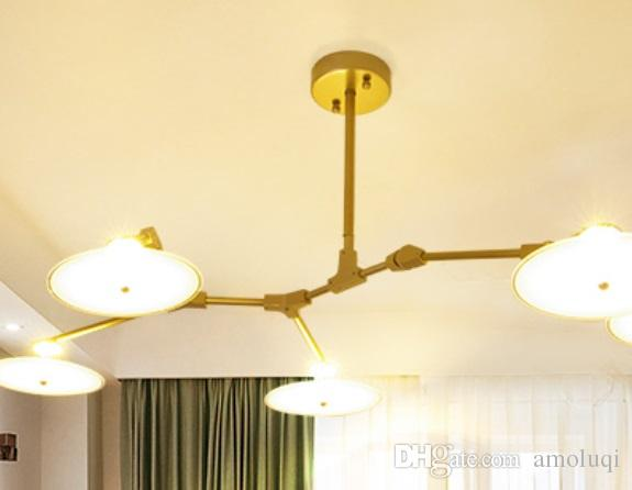 Nordic Lamps And Lanterns Living Room Ceiling Lamp Led Conference