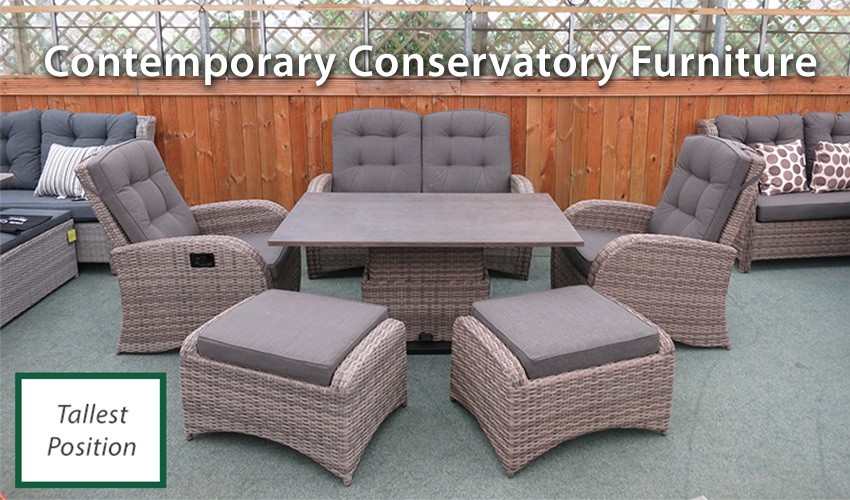 Contemporary Conservatory Furniture Sets for 2018 | UK Delivery