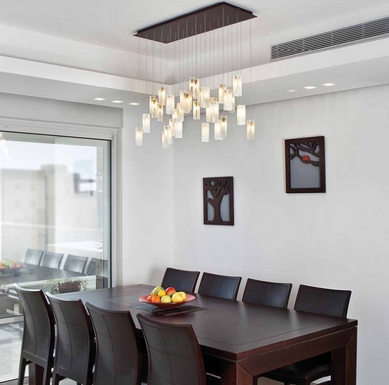 Dining Light Fixtures Contemporary Gallery In Modern Room Design 18