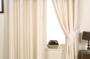 Make your choice with contemporary faux silk eyelet curtains for