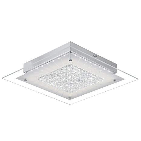 Auffel LED Ceiling Light Fixtures, Contemporary Flush Mount Light