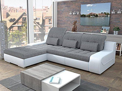 European Sleeper Sectional Sofa GIORGIO With Storage Modern Design